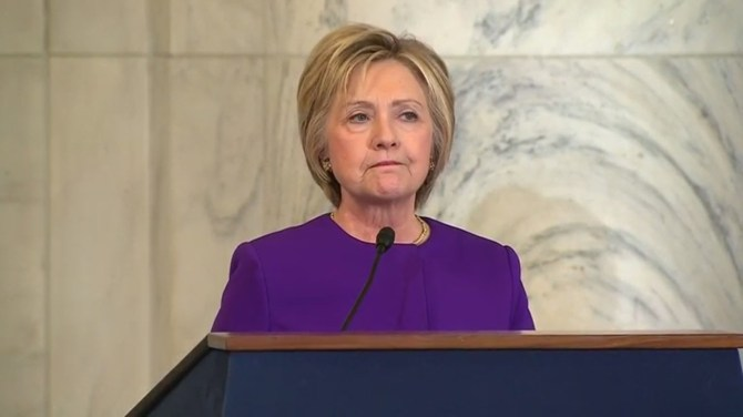 Image result for hillary fake purple
