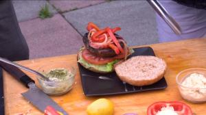 BBQ Tips: Meet on Main's Portobello Vegan Burgers