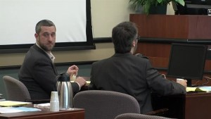 Footage of Dustin Diamond receiving bar fight verdict