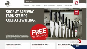 Knife promotion has Safeway shoppers in a stamp collecting frenzy
