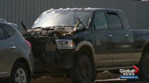 $2M in stolen vehicle parts recovered at north Edmonton chop shop