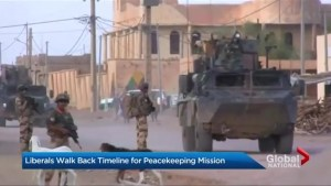 Canada's peacekeeping plan in limbo?