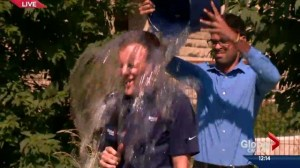 Ice Bucket Challenge: Global's Reid Fiest