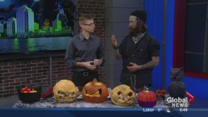 Local artist takes pumpkin carving to the next level