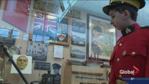 Littlest Mountie explores the Regina RCMP depot