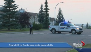 Search for armed man in Cochrane ends peacefully