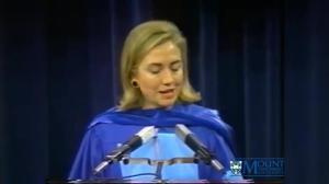 Hillary Clinton MSVU Convocation