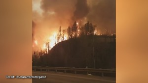 Dramatic video of Fort McMurray wildfire shared on social media as evacuations continue