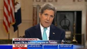 Kerry compares Netanyahu speech to political football