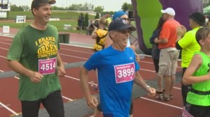 38th Manitoba Marathon is grandfather's 75th birthday present to himself