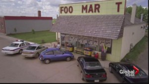 'Corner Gas' business goes up in flames