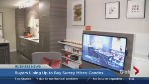 BIV: Buyers lining up to buy Surrey micro-condos