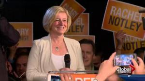 Polls put NDP in front in Alberta election race