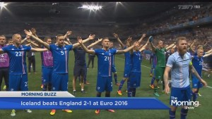 Iceland beats England in epic game for Euro 2016