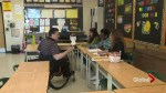 Teaching assistant with spina bifida struggles to get to and from work