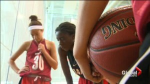 Team Ontario's U15 Girls Basketball team gets set to defend their National Championship.