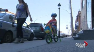 No kids' bikes on Montreal buses