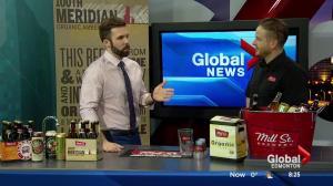 Toasting upcoming Beerfest in Edmonton