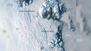 Scientists raise alarm as glacier melts near North Pole