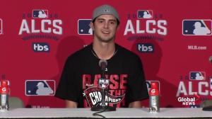 Cleveland starter Ryan Merritt says he didn't let pre-game talk effect him