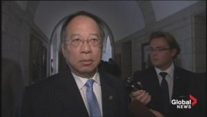Toronto MP hoping for peaceful resolution to Hong Kong crisis