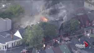 Daring escape after two-alarm fire in Kensington Market