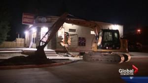 Edmonton police investigate brazen ATM theft