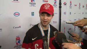 Josh Morrissey says he'll never forget gold medal-winning game