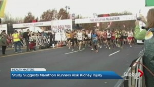 Marathon running can cause kidney damage