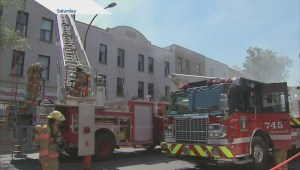 Fire damages Milano's Grocery store and apartment building