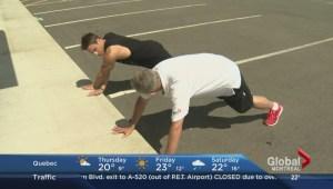 Sidewalk workout
