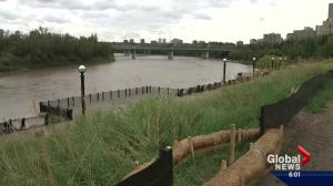 Edmontonians warned as North Saskatchewan River's water levels expected to rise rapidly