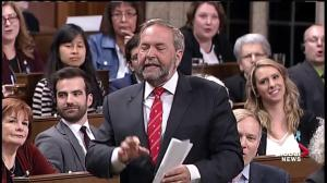 Tom Mulcair asks why Prime Minister Trudeau about lack of concrete plan on climate change