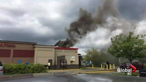 Firefighters save Burger King, girl's birthday party from flames