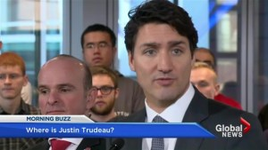 Do Canadians have the right to know where the PM is?