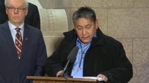 Shoal Lake 40 First Nation Chief Erwin Redsky: Our story is a world story