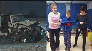 Winnipeg boy makes remarkable recovery following horrific crash
