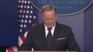 Spicer refuses to comment on rumours he is on the outs as Press Sec.