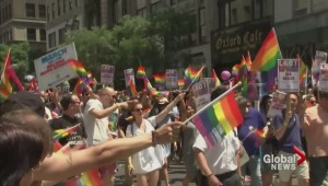 Heightened security at NYC pride parade