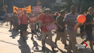 Canada's largest Labour Day parade winds through downtown Toronto