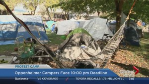 Eviction day for Oppenheimer Park campers
