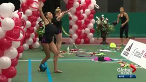 Global Edmonton MVP Gabriella Carvalho thrives off pressure of gymnastics