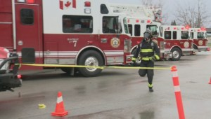 Firefighter races for charity, hopes to inspire others to help