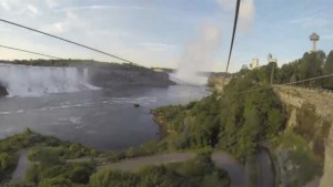 New Niagara Falls zip line opens for thrill seekers