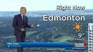 Edmonton early morning weather forecast: Monday, June 19, 2017