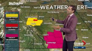 Edmonton Weather Forecast: July 14