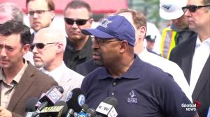 Philadelphia Mayor won't confirm if derailed Amtrak train was speeding at time of accident