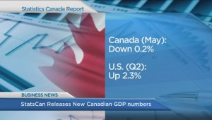 BIV: StatsCan releases new Canadian GDP numbers