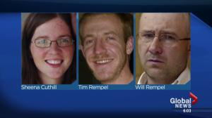 Sheena Cuthill, Will Rempel, and Tim Rempel found guilty of first-degree murder