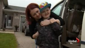 7-year-old boy inspires Christmas in October in Ontario